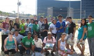 Estudantes da Rede Estadual jogam vôlei de praia na Cidade Administrativa