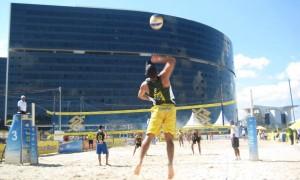 Começa o Circuito Nacional de Vôlei de Praia na Cidade Administrativa