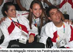 Abertas as Paralimpíadas Escolares 2012