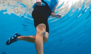 Vantagens de praticar deep running, correr dentro d'água