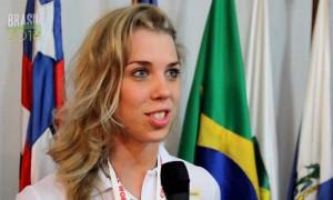 Ministério do Esporte recebe atletas do handebol campeãs do Mundial 2013