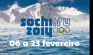 O calendário Brasileiro para os jogos de Inverno de Sochi