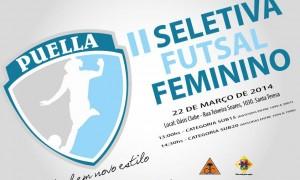 Puella AECS/Oasis/Magnum realizará II Seletiva de Futsal Feminino