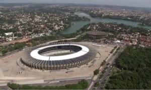 Mineirão abre as portas para a Copa do Mundo