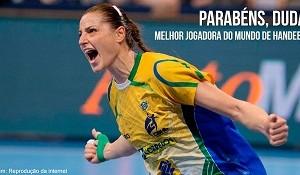 Melhor jogadora de Handebol do mundo é brasileira