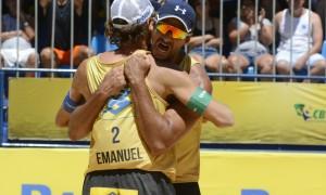 Circuito Brasileiro de Vôlei de Praia – Ricardo e Emanuel conquistam a segunda etapa da temporada