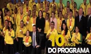 Medalhistas do Pan e Parapan foram recebidos por Dilma Rousseff