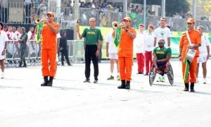 A um ano dos Jogos Paralímpicos, atletas abrem desfile de 7 de setembro
