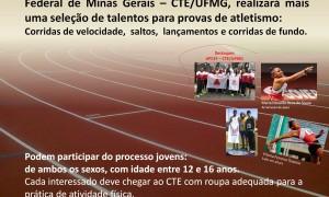 Peneirada de Atletismo do CTE-UFMG