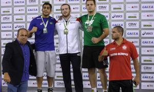 Brasileiros levam a melhor em competição internacional de luta olímpica