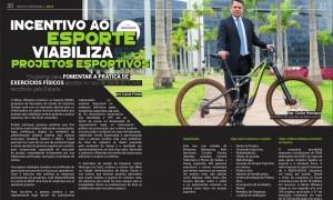 Incentivo ao Esporte é destaque na revista Iron Biker Brasil