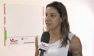 Entrevista com atleta olímpica Joanna Maranhão.