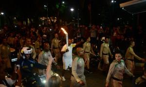 Chama olímpica passa por Juiz de Fora, a última cidade celebração em Minas Gerais