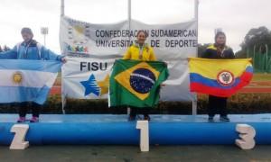 Brasil brilha na Argentina e conquista 65 medalhas nos Jogos Universitários Sul-Americanos