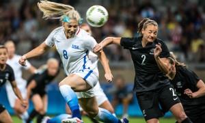 Estados Unidos e França confirmam favoritismo e vencem na abertura do Torneio Olímpico de Futebol Rio 2016, em Belo Horizonte