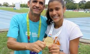 Atletismo conquista primeiro ouro para Minas Gerais nos Jogos Escolares da Juventude