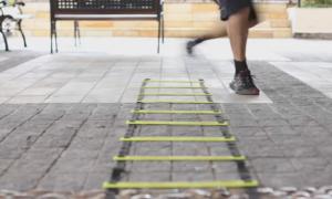 Treinamento: ganhe agilidade na corrida com a escadinha