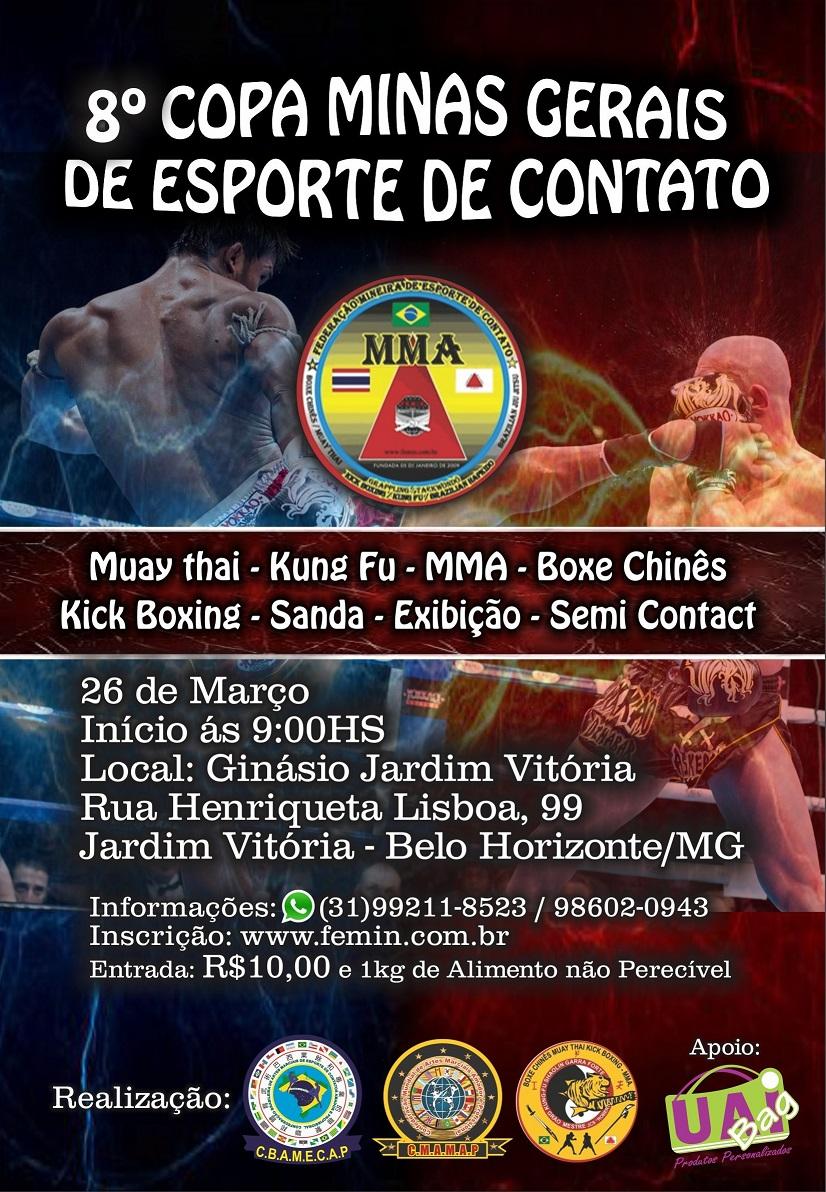 8ª Copa Minas Gerais de Esporte de Contato
