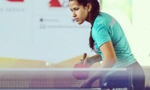 """Após conhecer o tênis de mesa na escola, Vitória Josyane afirma: """"Minha vida seria sem graça sem o esporte"""""""