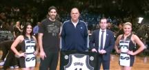 Oscar Schmidt é Homenageado pelo Brooklin Nets na NBA