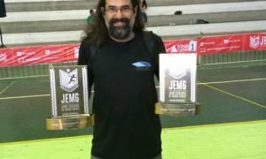Rodrigo Denis inspira-se em antigos professores para seguir no esporte