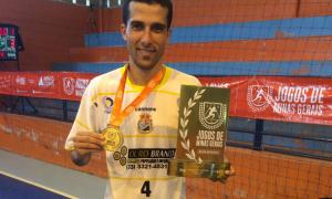 """Guilherme Virla destaca aprendizado com o futsal: """"Evoluí muito através do esporte"""""""