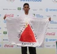 """""""Os atletas têm que acreditar neles mesmos"""", aconselha Rian Pereira Coutinho, atleta do Atletismo"""