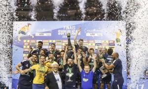 Sada/Cruzeiro bate Taubaté e é pentacampeão da Superliga