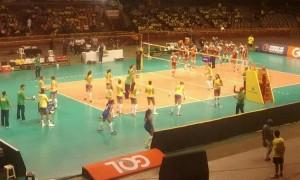 No Dia Nacional do Vôlei, Seleção brasileira feminina ganha com facilidade em Belo Horizonte