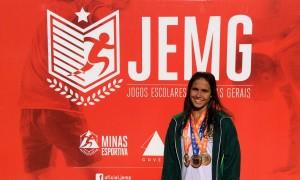 Nem mesmo a rotina pesada tira o foco de Mariana Paes, que almeja cada vez mais medalhas e pódios