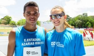 Víttor Souza, campeão do JEMG é medalhista no mundial escolar de atletismo