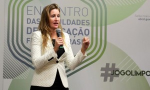 Diretora da Wada exalta avanços no controle de dopagem no país em Encontro das Faculdades de Educação Física do Brasil