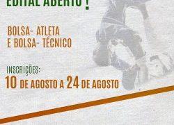 Secretaria de Estado de Esportes de Minas publica edital 2017 da Bolsa Atleta e Bolsa Técnico