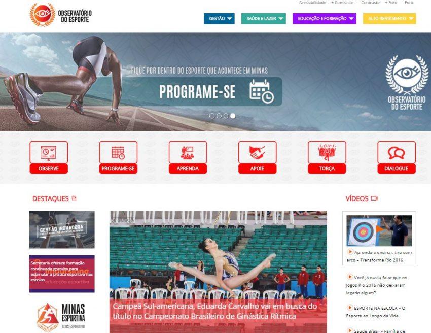 662044259b Observatório do Esporte está de cara nova com diversas novidades ...