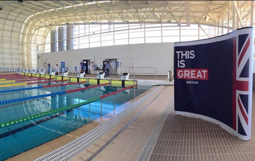 Evento teste da delegação britânica no Centro de Treinamento Esportivo da UFMG - Foto: Divulgação UFMG