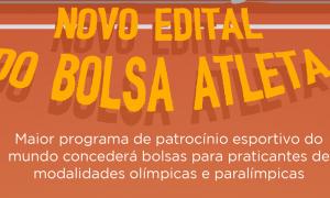 Atletas de modalidades olímpicas e paralímpicas podem se inscrever para Bolsa Atleta Federal até 22 de agosto
