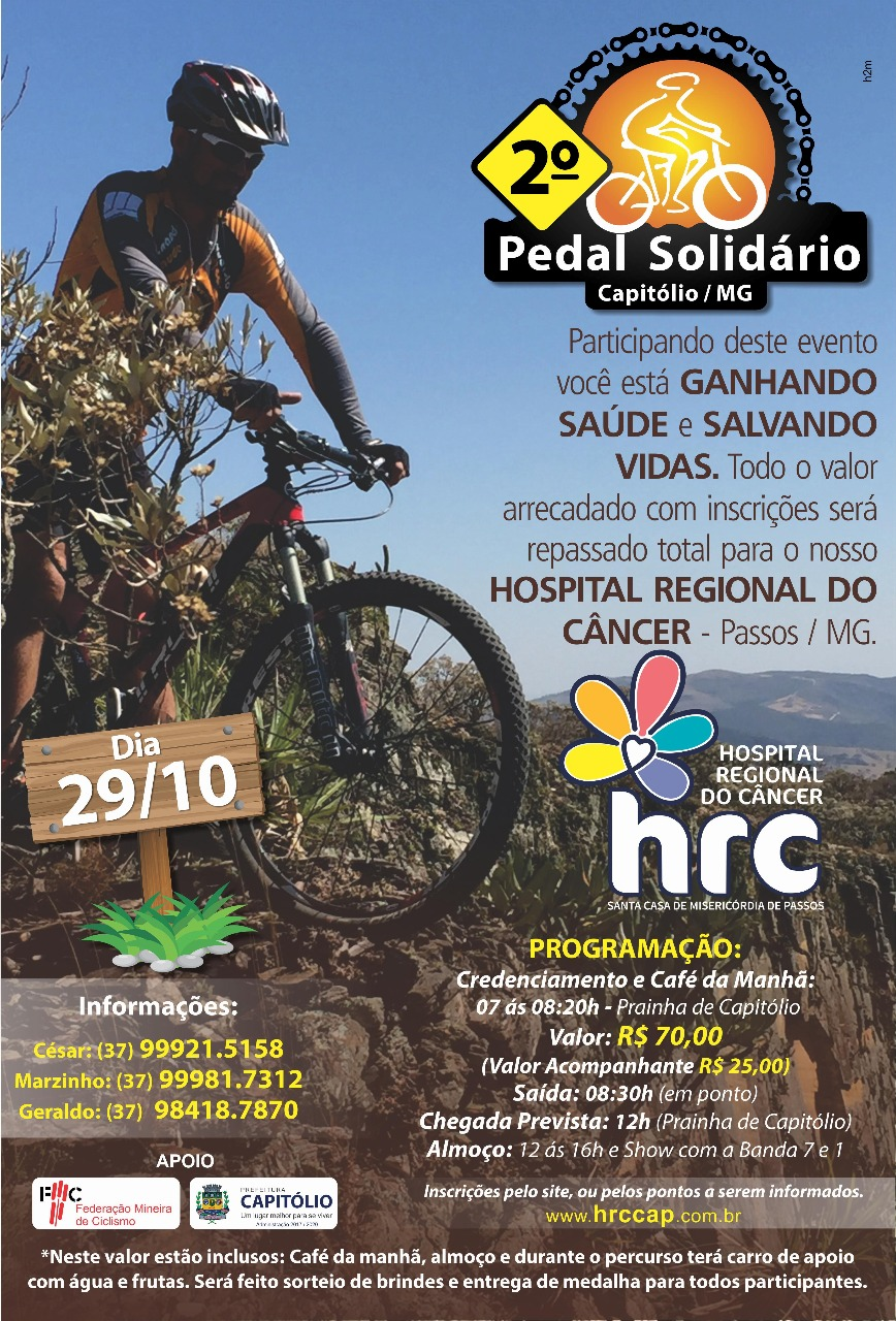 2º Pedal Solidário de Capitólio