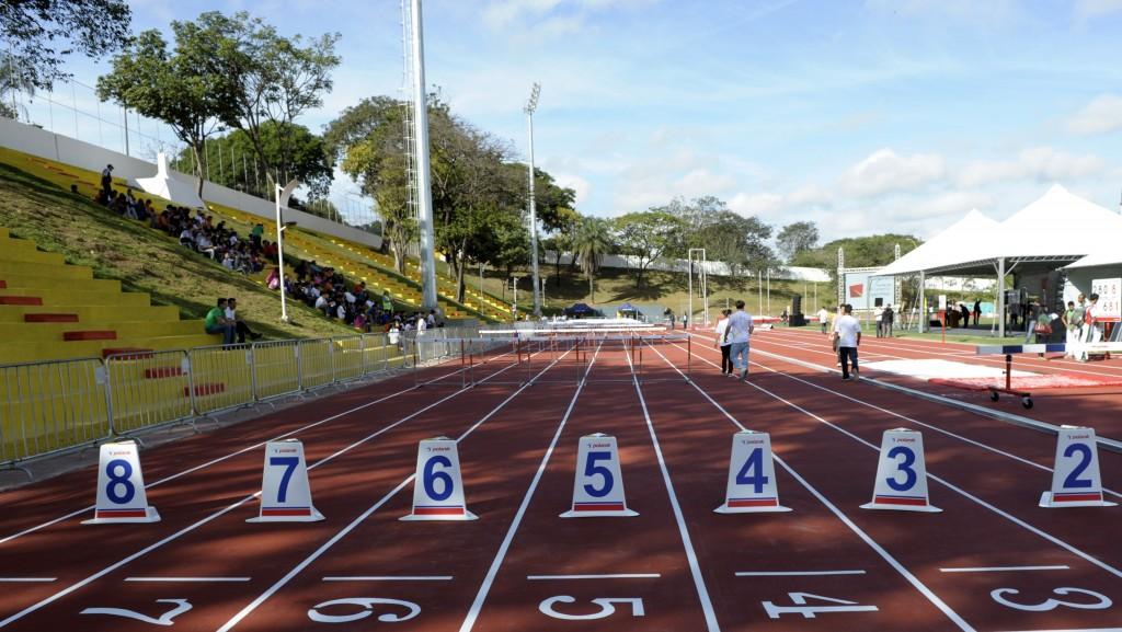Pista de atletismo CTE - Foto: Divulgação