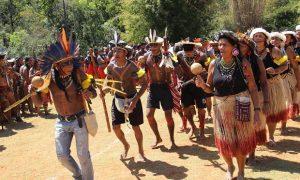 Rituais, festas e confraternizações marcaram os Jogos Indígenas de Minas Gerais