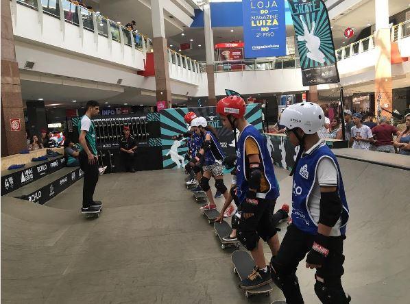 Academia do Skate levou a modalidade a mais de 3.500 crianças e adolescentes. Foto: Divulgação/Associação Natividade