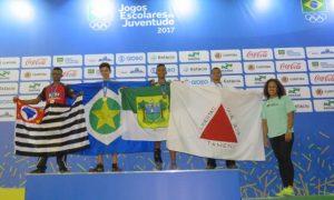 Mineiros fecham disputas individuais dos Jogos Escolares da Juventude com 16 medalhas e iniciam modalidades coletivas com vitórias