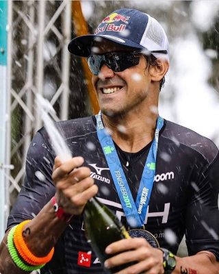 Igor Amorelli, campeão do Iroman 70.3 Miami (Foto: Divulgação fanpage Igor Amorelli)