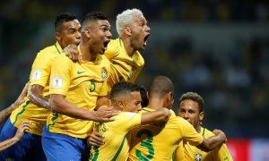 Já classificada, Seleção Brasileira encerra eliminatórias para Copa do Mundo com recorde de arrecadação no futebol brasileiro