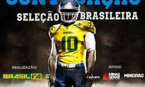 Mineirão recebe clássico do futebol americano em dezembro: Brasil x Argentina