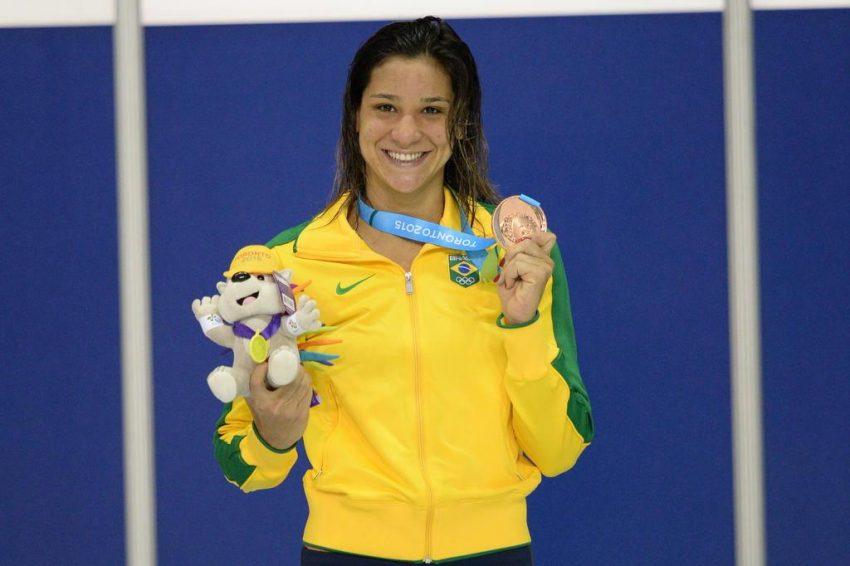 """""""precisamos fazer isso por quem está vindo"""", afirma a nadadora medalhista Joanna Maranhão (Foto: divulgação - Jornal GGN)"""