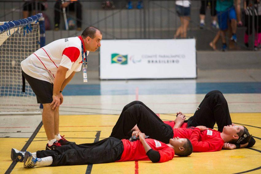 Goalball masculino conquista ouro nas paralimpiadas escolares 2015. (Foto: Acervo pessoal)