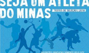 Minas Tênis seleciona atletas para integrar equipes de base em 2018