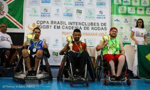 Minas Quad é campeã da Copa Brasil Caixa Interclubes de Rugby em Cadeira de Rodas