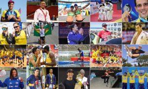 Brasil termina 2017 com 21 medalhas em campeonatos mundiais. Confira a participação dos mineiros nessas conquistas.