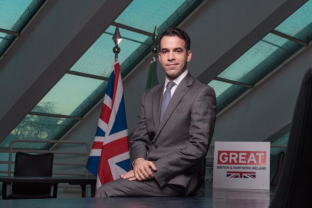 Thomas Nemes é cônsul do Reino Unido e representa valores da missão diplomática britânica em Minas Gerais. Foto: Divulgação
